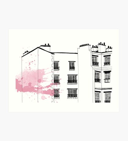 Parisian Windows Art Print