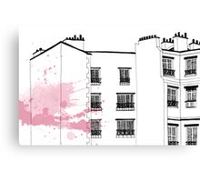 Parisian Windows Canvas Print