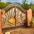 Sunny Gate by Judi FitzPatrick
