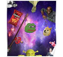The Dimensions Of The Meme Poster