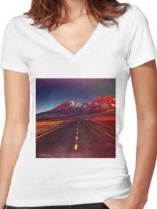 Superflight Women's Fitted V-Neck T-Shirt