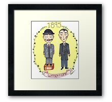 Holmes and Watson 1895 Framed Print