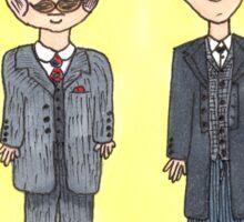 Holmes and Watson 1895 Sticker