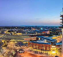 Hannover Skyline by Michael Abid