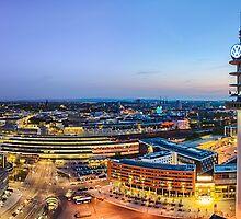 Hannover Skyline by Michael Abid
