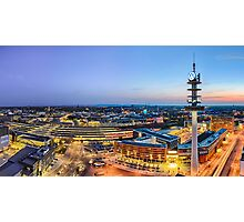 Hannover Skyline Photographic Print