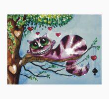 The Cheshire Cat - so much love Kids Tee