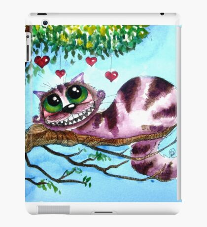 The Cheshire Cat - so much love iPad Case/Skin