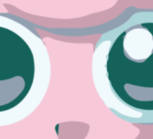 Minimalist Jigglypuff from Super Smash Bros. Brawl Sticker