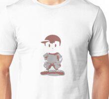 Minimalist Ness from Super Smash Bros. Brawl Unisex T-Shirt