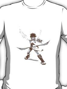 Minimalist Pit from Super Smash Bros. Brawl T-Shirt