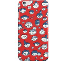 Doodle Faces iPhone Case/Skin