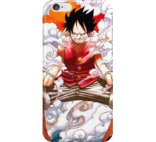 Luffy gear 2 iPhone Case/Skin