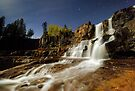 Gooseberry Falls on a Moonlit Night by Michael Treloar
