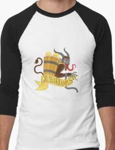Gruss vom Krampus Men's Baseball ¾ T-Shirt