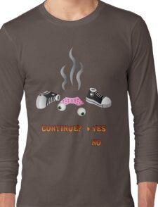 Crash Bandicoot Death Screen Long Sleeve T-Shirt