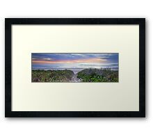 An Inspiration - Ted's Sunrise Pt 2. Framed Print
