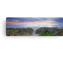 An Inspiration - Ted's Sunrise Pt 2. Canvas Print