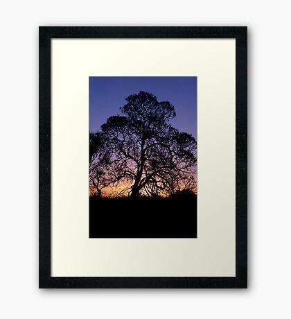 Ayer's Rock Sunset Framed Print