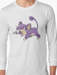 Classic Rattata Design Long Sleeve T-Shirt