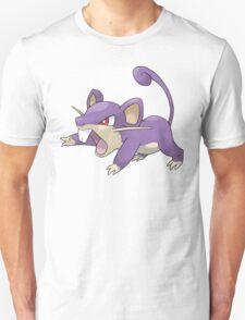 Classic Rattata Design Unisex T-Shirt