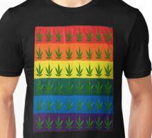 pot pride flag Unisex T-Shirt