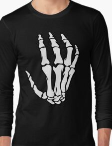 Skeleton Hand Long Sleeve T-Shirt
