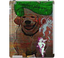 redefines pleasure iPad Case/Skin