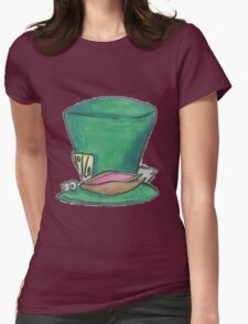 Mad Tea Party Womens Fitted T-Shirt