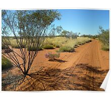 A Road To Walk - Canning Stock Route Poster