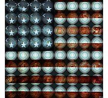American Flag Creative Photographic Print