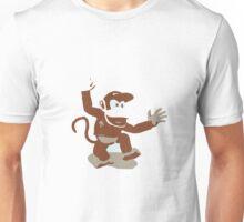 Minimalist Diddy Kong from Super Smash Bros. Brawl Unisex T-Shirt