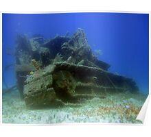Undersea Wreck Poster