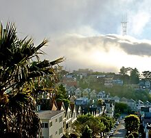 Fog over Twin Peaks by BrightFogPhoto