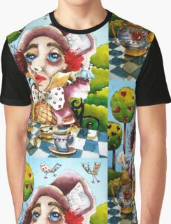 The Mad Hatter - time for tea Graphic T-Shirt