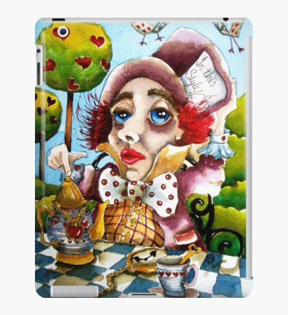 The Mad Hatter - time for tea iPad Case/Skin