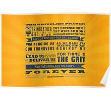 The Memphis Grizzlies Prayer Poster