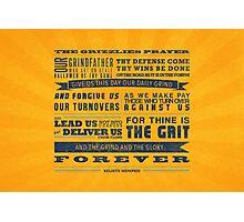 The Memphis Grizzlies Prayer Photographic Print