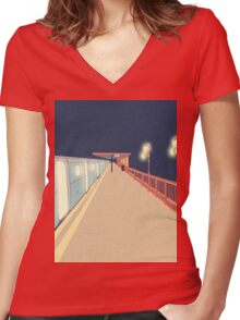 Infinity Women's Fitted V-Neck T-Shirt
