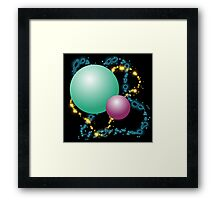 Planetary Lights Framed Print