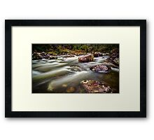 Taming of the Kiewa Framed Print