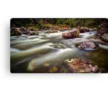 Taming of the Kiewa Canvas Print