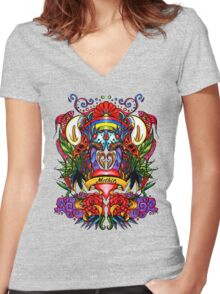 Mother Women's Fitted V-Neck T-Shirt