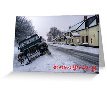 Landy in the ditch Greeting Card
