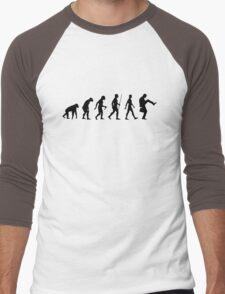 Evolution of Man Men's Baseball ¾ T-Shirt