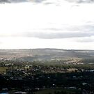 Mount Brown Lookout, York -  Panorama  by Richard Owen
