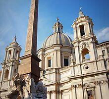 Fontana dei Quattro Fiumi, Piazza Navona, Roma, Italia by outspoken82