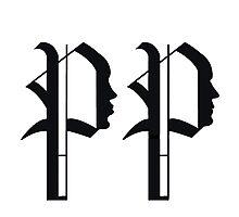 Pride & Predjudice: Darcy and Lizzy tattoo design Photographic Print