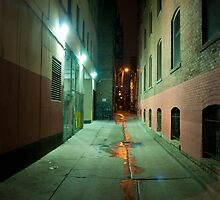 John Street Alley At Night by Gary Chapple