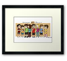 Internet Box Crew :) Framed Print